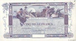 5000 Francs FLAMENG FRANCE  1918 F.43.00 pr.NEUF