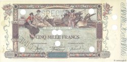 5000 Francs FLAMENG FRANCE  1918 F.43.00s2 TTB+