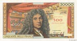 500 NF sur 50000 Francs MOLIÈRE FRANCE  1958 F.- NEUF