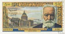 5 Nouveaux Francs VICTOR HUGO FRANCE  1959 F.56.00s1 NEUF
