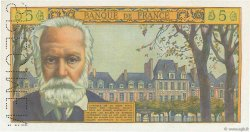 5 Nouveaux Francs VICTOR HUGO FRANCE  1959 F.56.00 NEUF