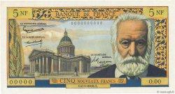 5 Nouveaux Francs VICTOR HUGO FRANCE  1959 F.56.00 pr.NEUF