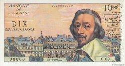 10 Nouveaux Francs RICHELIEU FRANCE  1959 F.57.00s1 NEUF