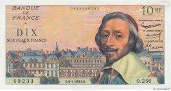 10 Nouveaux Francs RICHELIEU FRANCE  1963 F.57.22 TTB