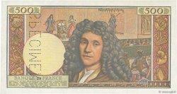 500 Nouveaux Francs MOLIÈRE FRANCE  1959 F.60.00 NEUF