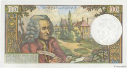 10 Francs VOLTAIRE FRANCE  1963 F.62.02 AU
