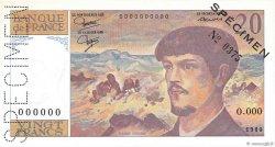 20 Francs DEBUSSY FRANCE  1980 F.66.00 pr.NEUF