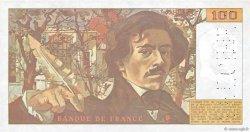 100 Francs DELACROIX imprimé en continu FRANCE  1991 F.69bis.00s1 NEUF