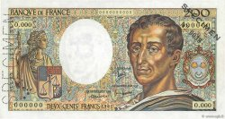 200 Francs MONTESQUIEU FRANCE  1981 F.70.00s1 SPL