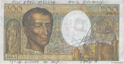 200 Francs MONTESQUIEU FRANCE  1981 F.70.00x SPL
