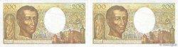 200 Francs MONTESQUIEU FRANCE  1981 F.70.00x SPL