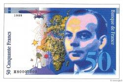 50 Francs SAINT-EXUPÉRY50 Francs SAINT-EXUPÉRY FRANCE  1989 F.72E.05 NEUF