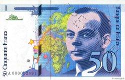 50 Francs SAINT-EXUPÉRY FRANCE  1992 F.72.00 pr.NEUF