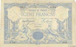 100 Francs type 1882 Lion inversé FRANCE  1882 F.A48bis.01 TB