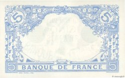 5 Francs BLEU  FRANCE  1912 F.02.07 SPL