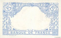 5 Francs BLEU FRANCE  1916 F.02.38 SPL