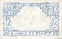 5 Francs BLEU lion inversé FRANCE  1916 F.02bis.04 SUP+
