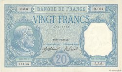 20 Francs BAYARD FRANCE  1916 F.11.01 pr.NEUF