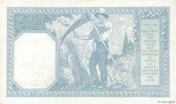 20 Francs BAYARD FRANCE  1917 F.11.02 pr.SPL