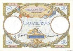 50 Francs LUC OLIVIER MERSON type modifié FRANCE  1931 F.16.02 SPL