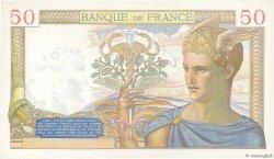 50 Francs CÉRÈS modifié FRANCE  1938 F.18.18 NEUF