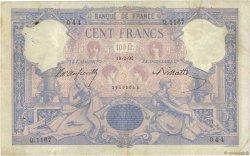 100 Francs BLEU ET ROSE FRANCE  1892 F.21.05 pr.TB
