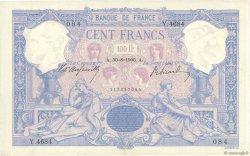 100 Francs BLEU ET ROSE FRANCE  1906 F.21.20 pr.SUP