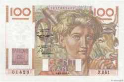 100 Francs JEUNE PAYSAN FRANCE  1953 F.28.38 NEUF