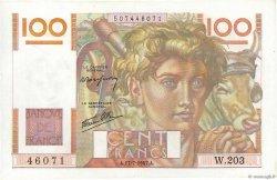 100 Francs JEUNE PAYSAN Favre-Gilly FRANCE  1947 F.28ter.01 SPL