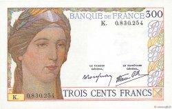 300 Francs FRANCE  1938 F.29.01 SPL