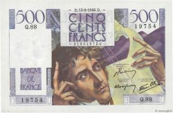 500 Francs CHATEAUBRIAND FRANCE  1946 F.34.06 pr.NEUF