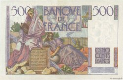 500 Francs CHATEAUBRIAND FRANCE  1953 F.34.13 pr.SPL