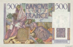 500 Francs CHATEAUBRIAND FRANCE  1953 F.34.13 TTB+