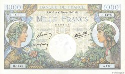 1000 Francs COMMERCE ET INDUSTRIE FRANCE  1941 F.39.04 pr.NEUF