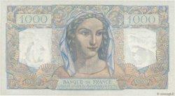 1000 Francs MINERVE ET HERCULE FRANCE  1949 F.41.25 SPL