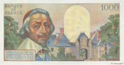 1000 Francs RICHELIEU FRANCE  1956 F.42.19 pr.SPL