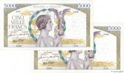 5000 Francs VICTOIRE Impression à plat FRANCE  1942 F.46.38 SPL