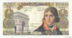 10000 Francs BONAPARTE FRANCE  1956 F.51.05 SUP
