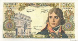10000 Francs BONAPARTE FRANCE  1958 F.51.11 SUP