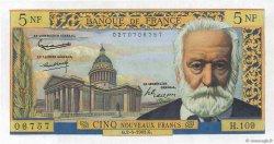 5 Nouveaux Francs VICTOR HUGO FRANCE  1963 F.56.14
