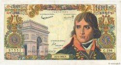 100 Nouveaux Francs BONAPARTE FRANCE  1964 F.59.26 TTB