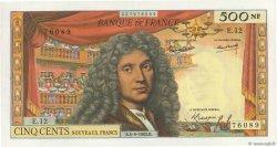 500 Nouveaux Francs MOLIÈRE FRANCE  1963 F.60.05