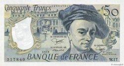 50 Francs QUENTIN DE LA TOUR FRANCE  1979 F.67.05 SUP+