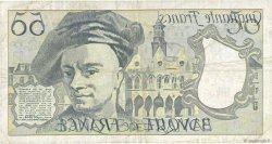 50 Francs QUENTIN DE LA TOUR FRANCE  1991 F.67.17 TB+