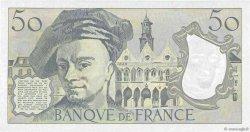 50 Francs QUENTIN DE LA TOUR FRANCE  1992 F.67.19c SUP à SPL