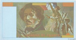 100 Francs DELACROIX FRANCE  1978 F.69.00