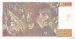100 Francs DELACROIX FRANCE  1978 F.69.00 SUP