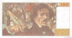 100 Francs DELACROIX modifié FRANCE  1987 F.69.11 SUP