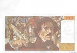100 Francs DELACROIX modifié FRANCE  1989 F.69.13c SUP+