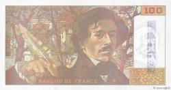 100 Francs DELACROIX imprimé en continu FRANCE  1990 F.69bis.01b7 NEUF